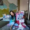 Yanina pudo tener un cumple con tarta y regalos gracias a Ningún Peque Sin Desayuno